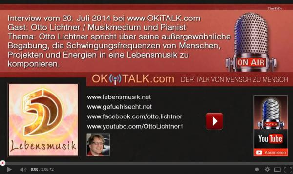 Interview Otto Lichtner bei OKI Talk am 20.07.2014 neu